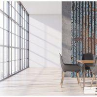 Lamele na ścianie - designerski sposób na ożywienie wnętrza
